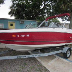Venta de embarcaciones, lancha modelo 2006 Monterey 180
