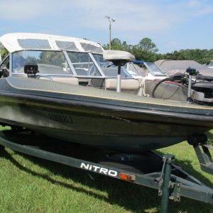 Lanchas pescadoras usadas en venta modelo 2000 Nitro 175 Sport