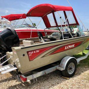 Lanchas pescadoras usadas en venta modelo 2006 Lowe 186